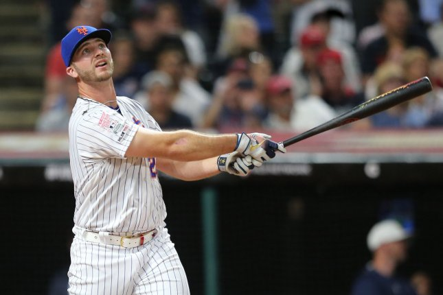 New York Mets first baseman Pete Alonso has 31 home runs this season. File Photo by Aaron Josefczyk/UPI