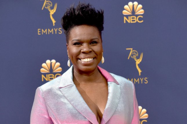 Leslie Jones thanked Lorne Michaels and the cast of Saturday Night Live on Twitter after confirming that she is exiting the show. File Photo by Christine Chew/UPI