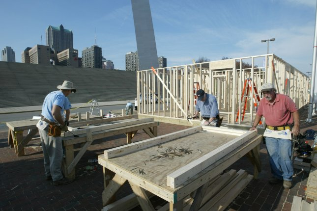 Housing starts in the United States surged nearly 17 percent in December, the report said. File Photo by Bill Greenblatt/UPI