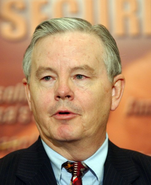 Rep. Joe Barton, R-TX, is sponsoring an act to repeal a 2007 law requiring lightbulbs to be 30 percent more energy-efficient. (UPI Photo/Roger L. Wollenberg)