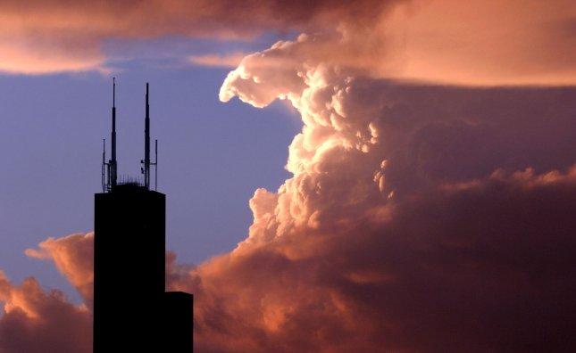 The Sears Tower is pictured in Chicago in a May 23, 2004 file photo. (UPI Photo/Brian Kersey/FILES)