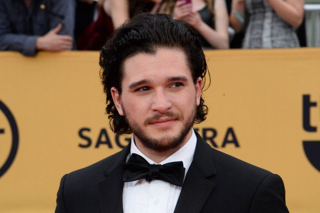 Kit Harington at the SAG Awards on Jan. 25. The actor alluded to his future with 'Game of Thrones' in an interview this month. File photo by Jim Ruymen/UPI