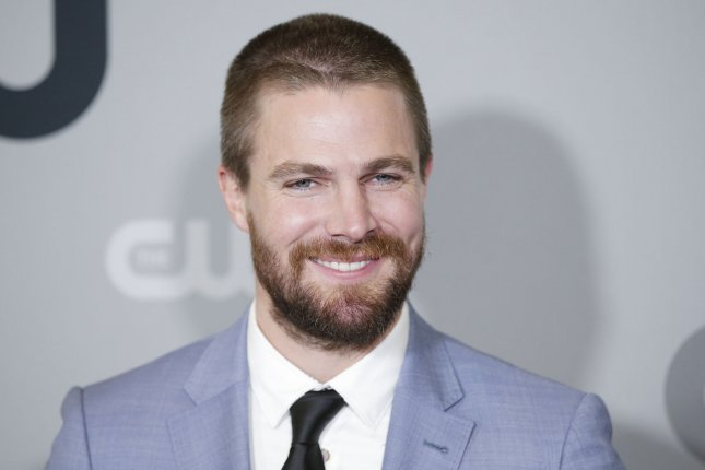 Arrow star Stephen Amell will be making an appearance on WWE Backstage. File Photo by John Angelillo/UPI