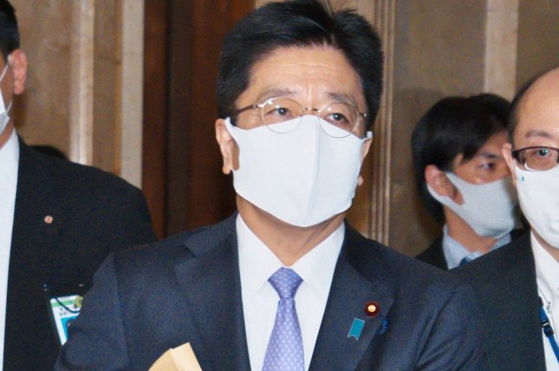 Japan's Chief Cabinet Secretary Katsunobu Kato expressed deep regret after Chinese boats reportedly entered Japanese waters near the disputed Senkaku Islands on Monday. File Photo by Keizo Mori/UPI