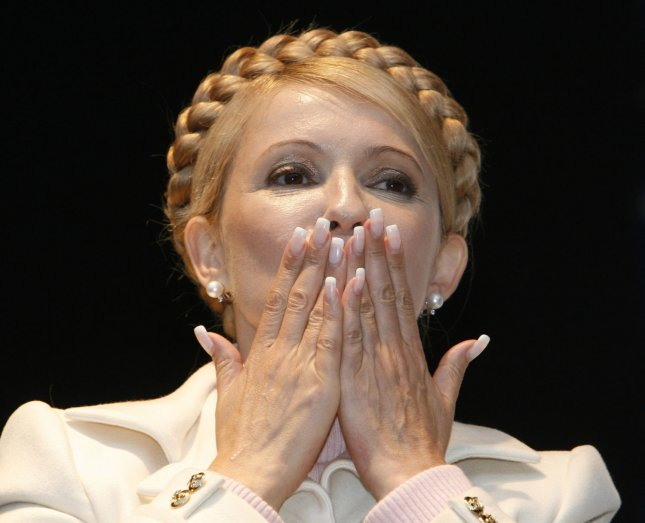 Former Ukrainian Prime Minister Yulia Tymoshenko, who is now facing embezzlement charges after being sentenced to seven years in prison. (UPI Photo/Sergey Starostenko)
