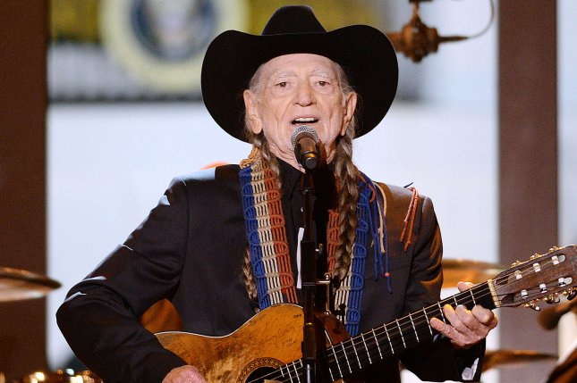 Singer Willie Nelson, seen here performing at A Salute to the Troops: In Performance at the White House concert in 2014, became the first country artist to receive the Library of Congress Gershwin prize for Popular Song. File Photo by Olivier Douliery/UPI