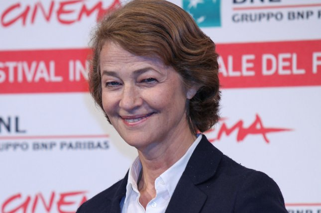 Charlotte Rampling arrives at a photocall for the film The Eye of the Storm during the 6th Rome International Film Festival on October 30, 2011. Photo by David Silpa/UPI