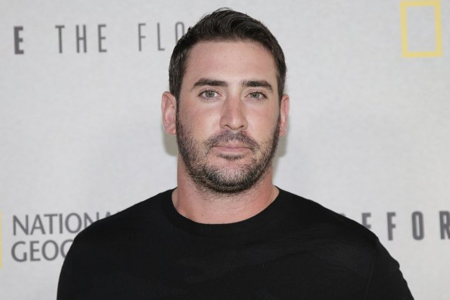 Matt Harvey arrives on the red carpet at the 'Before The Flood' New York screening at United Nations Headquarters on October 20, 2016 in New York City. Photo by John Angelillo/UPI