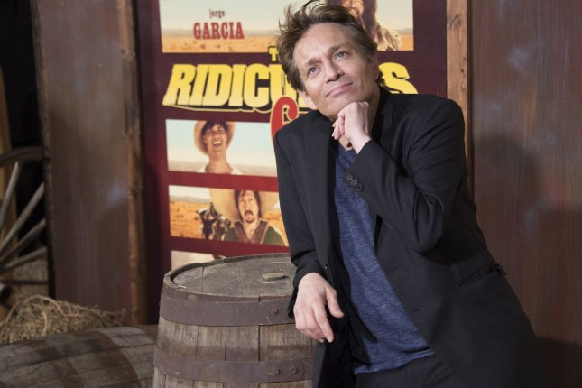 Chris Kattan attends the premiere of the motion picture comedy The Ridiculous Six in Los Angeles on November 30, 2015. Kattan was the first celebrity eliminated from this season of Dancing with the Stars. File Photo by Phil McCarten/UPI