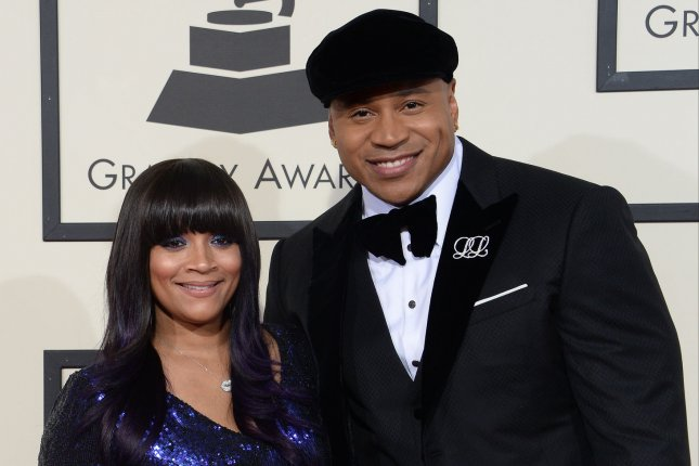 Simone Smith, left, and LL Cool J arrive for the 58th annual Grammy Awards on February 15, 2016. LL Cool J's show Lip Sync Battle has been renewed for a fourth season. Photo by Jim Ruymen/UPI