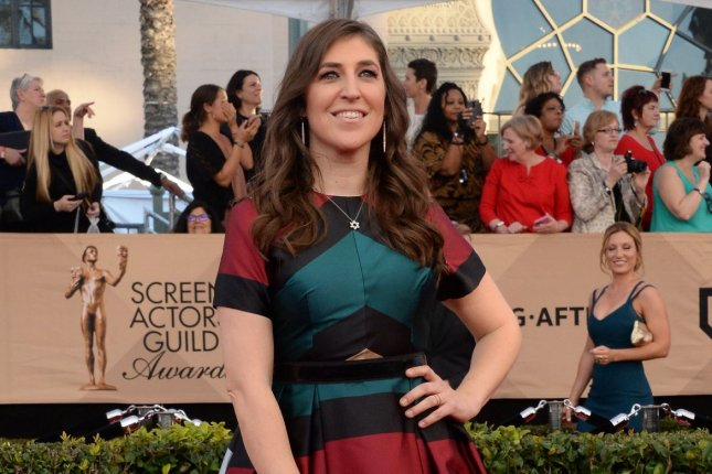 Actress Mayin Bialik revealed on Instagram that she was feeling blue on Christmas Eve, but things are now looking up for her. File Photo by Jim Ruymen/UPI