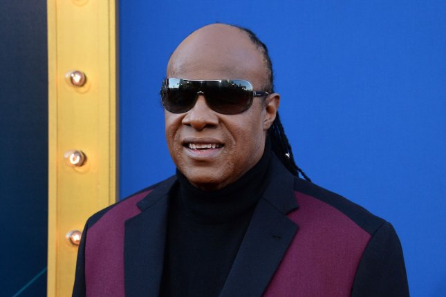Stevie Wonder attends the premiere of Sing at the Microsoft Theater in Los Angeles on December 3, 2016. The singer turns 70 on May 13. File Photo by Jim Ruymen/UPI