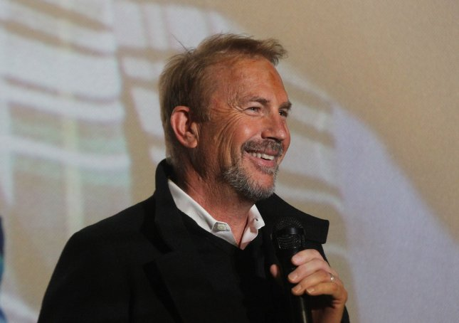 Kevin Costner and his band, Modern West, are to perform at the Outlaws & Legends Music Fest at the Back Porch of Texas in Abilene in March. File Photo by Bill Greenblatt/UPI