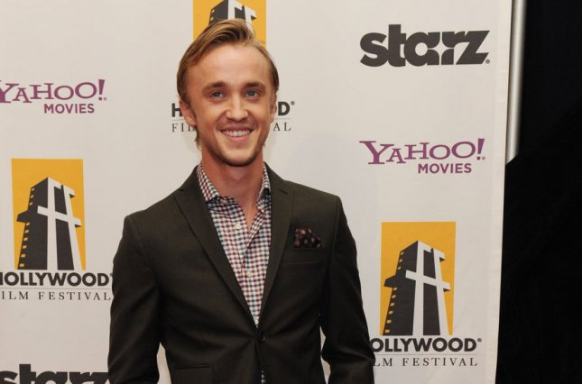 Tom Felton is mourning the death of Helen McCrory, the actress who played his mother in the Harry Potter film franchise. File Photo by Jim Ruymen/UPI