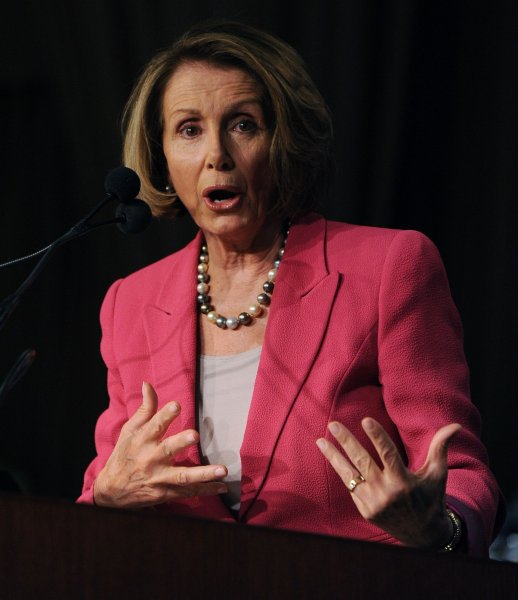 Love her or hate her, Rep. Nancy Pelosi, D-Calif., was a force to be reckoned with during her tenure as speaker of the U.S. House of Representatives. UPI/Roger L. Wollenberg