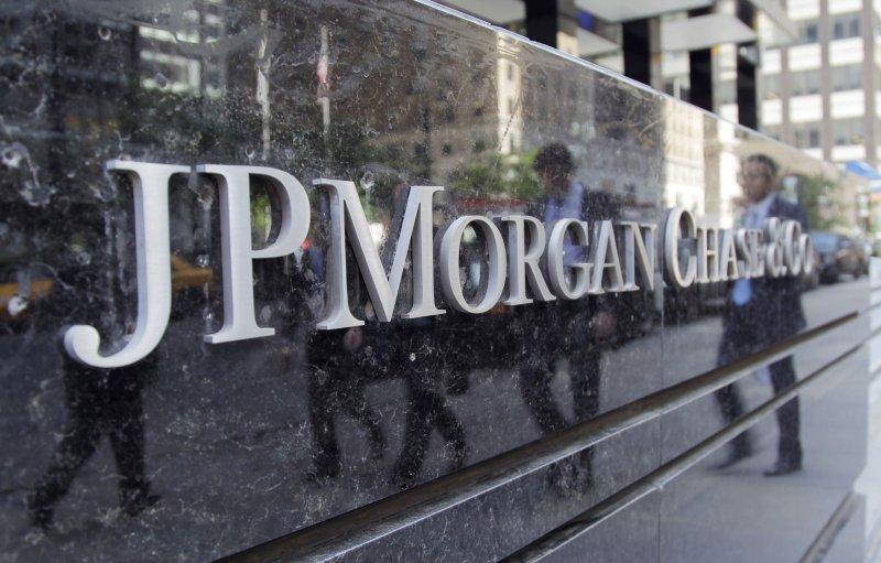 The JPMorgan Chase & Co. headquarters on Park Avenue in New York City . (File/UPI/John Angelillo)