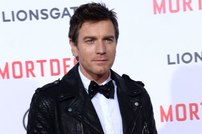 Ewan McGregor attending the premiere of the motion picture comedy Mortdecai on January 21, 2015. McGregor returns as Renton in the first teaser trailer for Trainspotting 2. File Photo by Jim Ruymen/UPI