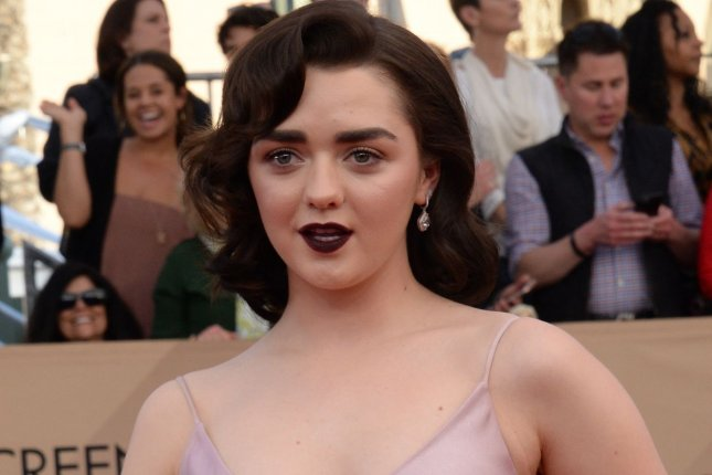 Maisie Williams arrives for the the 23rd annual SAG Awards on January 29. Williams appears in the first trailer for Fox's New Mutants alongside Anya Taylor-Joy. File Photo by Jim Ruymen/UPI