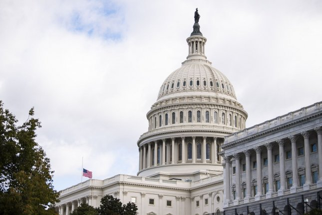 The House passed the spending measure just a few days before government funding is set to run out. File Photo by Kevin Dietsch/UPI