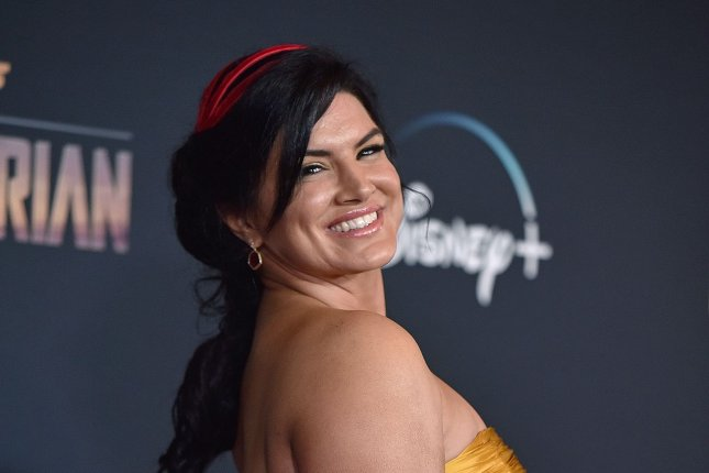 Gina Carano has announced plans to produce and star in a new film. File Photo by Chris Chew/UPI