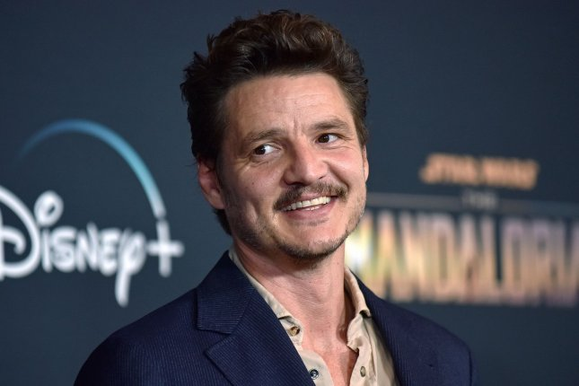 Pedro Pascal appears in the first photo from HBO's The Last of Us series. File Photo by Chris Chew/UPI