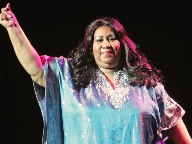 Legendary singer Aretha Franklin performs in concert at the Pechanga Indian Reservation's Resort and Casino in Temecula, California on February 2, 2008. (UPI Photo/Roger Williams)