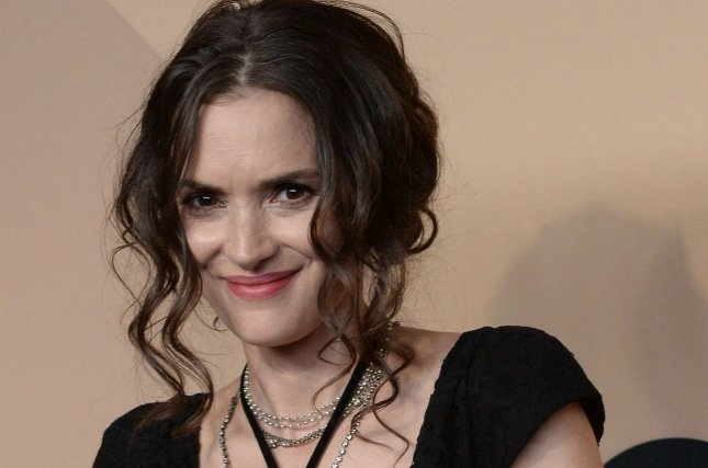 Winona Ryder attends the Screen Actors Guild Awards on January 29. The actress discussed her role as Joyce Byers in the November issue of Marie Claire U.K. File Photo by Jim Ruymen/UPI