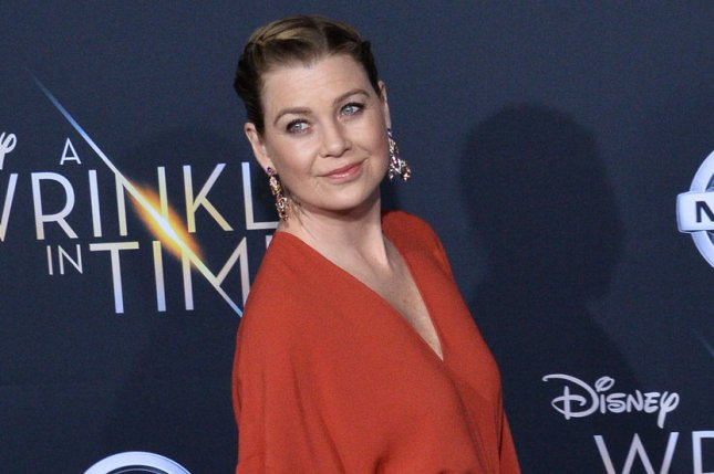 Ellen Pompeo attends the Los Angeles premiere of A Wrinkle in Time on February 26. File Photo by Jim Ruymen/UPI
