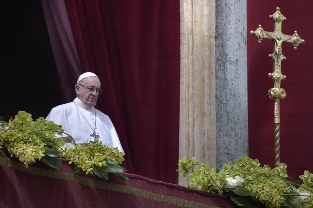 A letter by Pope Francis Monday forcefully condemned a report of sexual abuse by priests against minors, conduct that was outlined last week by a Pennsylvania grand jury report. File Photo by Stefano Spaziani/UPI