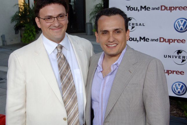 Brothers and co-directors Anthony and Joe Russo say they have finished filming Avengers 4. File Photo by Jim Ruymen/UPI