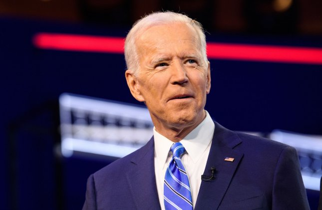 Former Vice President Joe Biden apologized Saturday for citing his work with segregationist senators as an example of his ability to work with others in government. File Photo by Kevin Dietsch/UPI