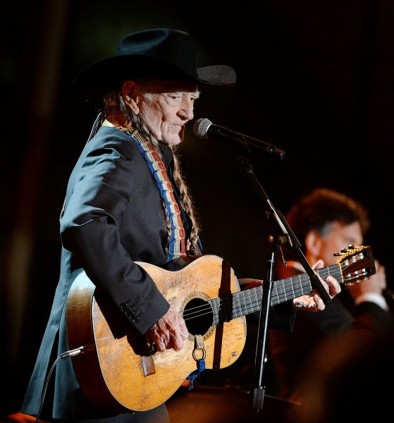 Marijuana advocate, Willie Nelson, creates a playlist for 4/20. File Photo by Olivier Douliery/Poo/UPIl
