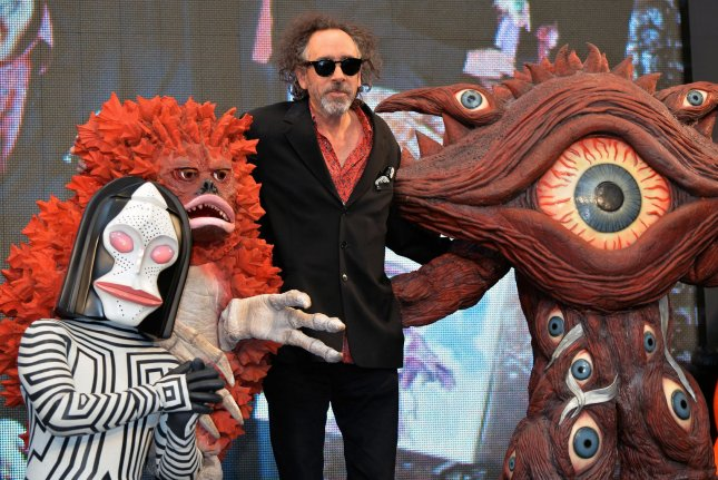 Tim Burton attends the opening ceremony for his exhibition The World of Tim Burton in Tokyo, Japan on October 31, 2014. The director has confirmed the development of the often discussed sequel, Beetlejuice 2. File Photo by Keizo Mori/UPI