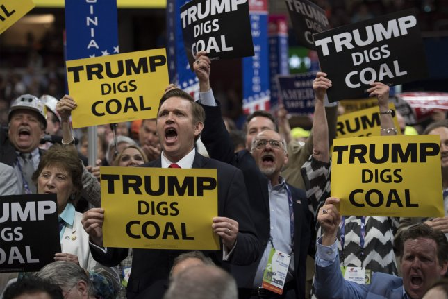The U.S. government issues a call for information about ways to develop a small-scale, cleaner, coal-fired power plant. File Photo by Kevin Dietsch/UPI