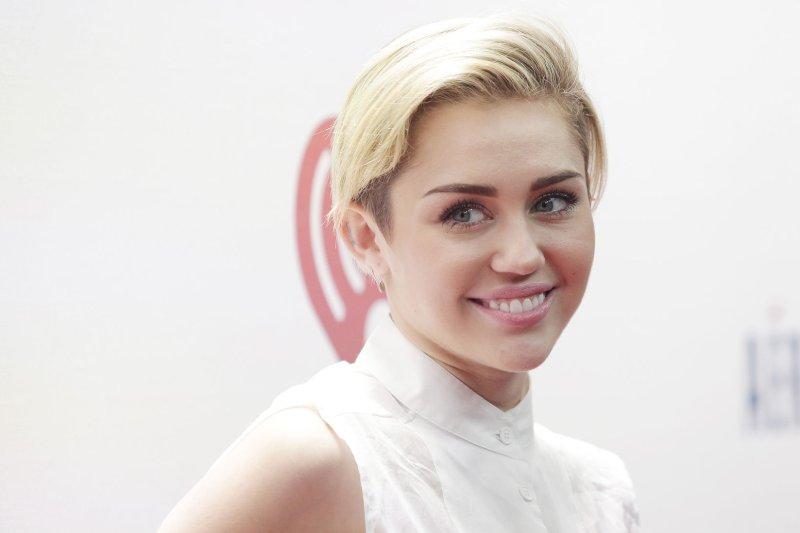Miley Cyrus. UPI/John Angelillo
