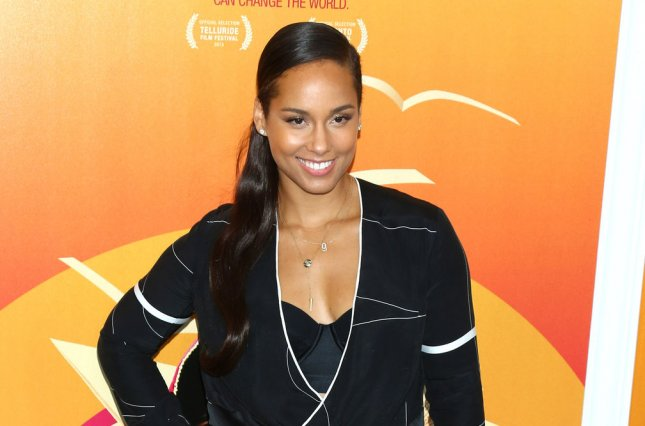 Incoming The Voice coach Alicia Keys arrives on the red carpet at the New York premiere of He Named Me Malala on September 24, 2015. File photo by Monika Graff/UPI