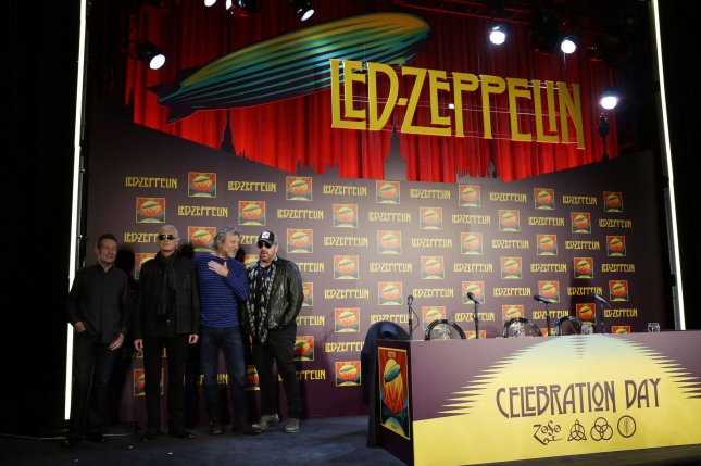 Rock group Led Zeppelin on Thursday won a legal victory in Los Angeles court when a jury ruled that the classic rock group did not plagiarize another rock group's song when composing and producing the hit Stairway to Heaven in 1971. File Photo by John Angelillo/UPI