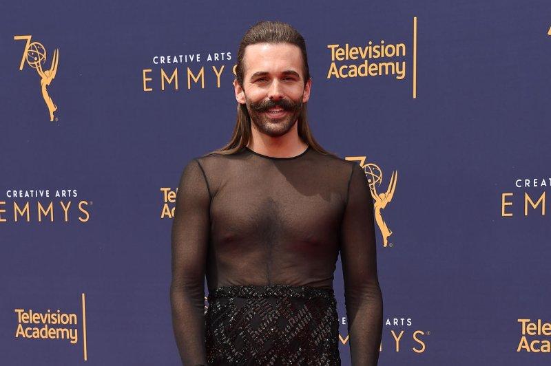 Queer Eye star Jonathan Van Ness has split from Wilco Froneman. File Photo by Gregg DeGuire/UPI