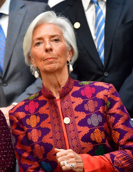 Christine Lagarde will take on her new duties with the European Central Bank in November. File Photo by Kevin Dietsch/UPI