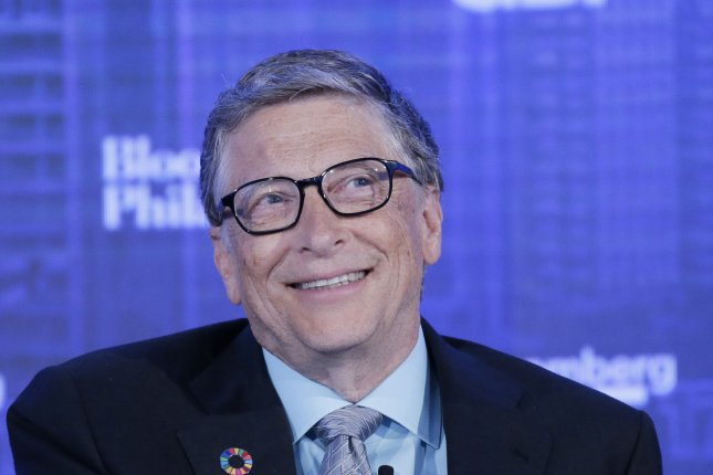 Microsoft co-founder Bill Gates exchanged a phone call with South Korean President Moon Jae-in on Friday, according to Seoul. File Photo by John Angelillo/UPI