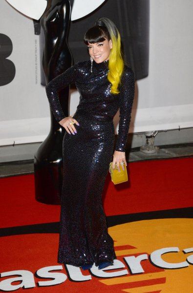Lily Allen found Band Aid 30's charity single 'a bit smug.' (UPI/Paul Treadway)
