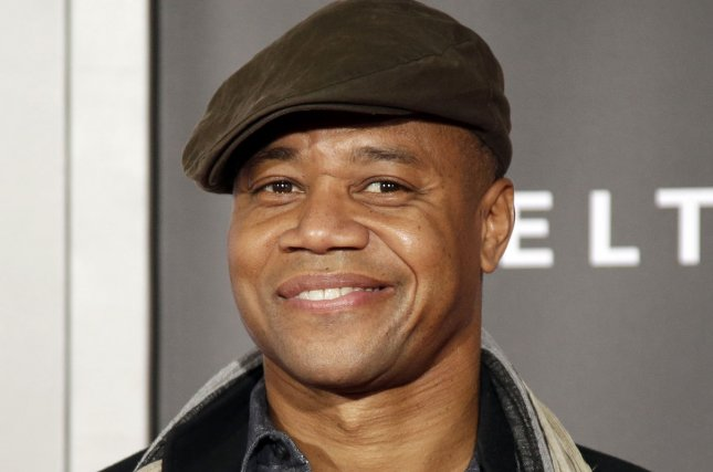 Cuba Gooding Jr. arrives on the red carpet at the New York Premiere of 'Selma' at Ziegfeld Theater in New York City on December 14, 2014. In a recent interview, the actor said meeting O.J. Simpson to prepare for 'American Crime Story' was not on his to-do list. In another interview, Gooding said playing Simpson was one of his hardest roles. File Photo by John Angelillo/UPI