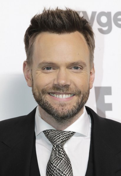 Joel McHale arrives on the red carpet at the 2015 NBCUniversal Cable Entertainment Group Upfront in New York City on May 14, 2015. The actor and comedian is to serve as host of the People's Choice Awards on January 18. File Photo by John Angelillo/UPI