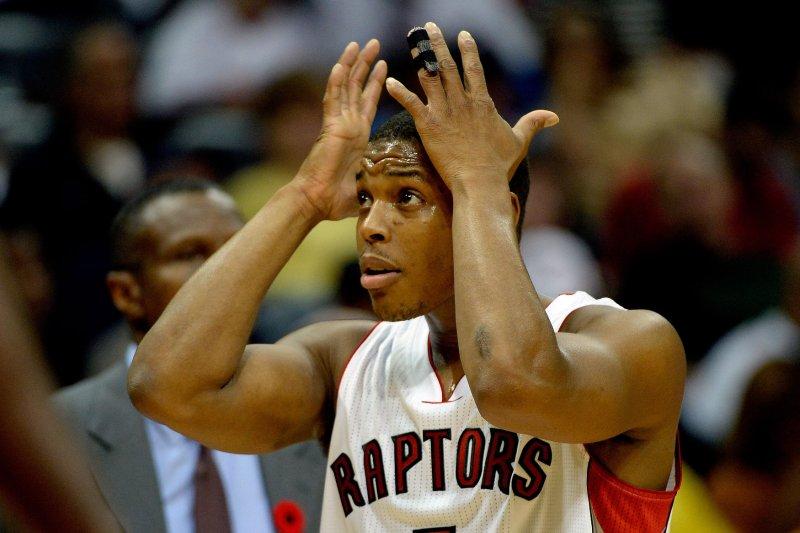 646cb020f Toronto Raptors PG Kyle Lowry misses shootaround