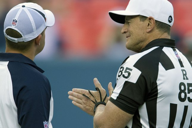 National Football League referee Ed Hochuli announces his retirement