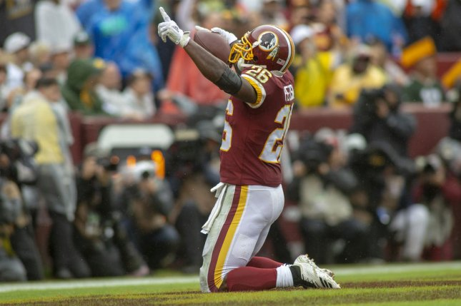 Peterson among number of Redskins listed as questionable