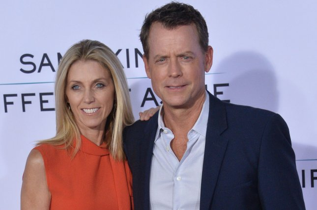 Greg Kinnear, pictured here with his wife, model Helen Labdon, is to appear in an episode of The Twilight Zone. File Photo by Jim Ruymen/UPI