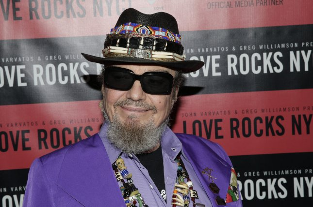 Dr. John, a six-time Grammy winner and Rock & Roll Hall of Famer, has died at the age of 77. Photo by John Angelillo/UPI