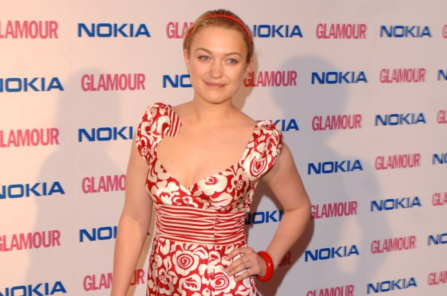 British actress Sophia Myles has announced her father Peter died after a battle with the coronavirus. File Photo by Rune Hellestad/UPI