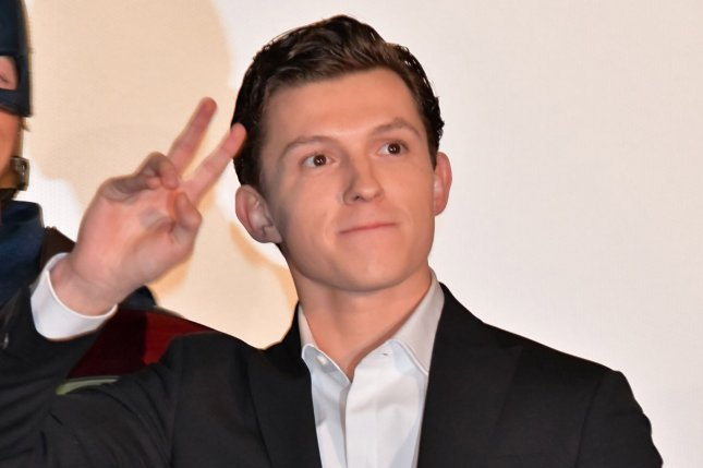 Tom Holland will be starring in new anthology series The Crowded Room for Apple TV+. File Photo by Keizo Mori/UPI